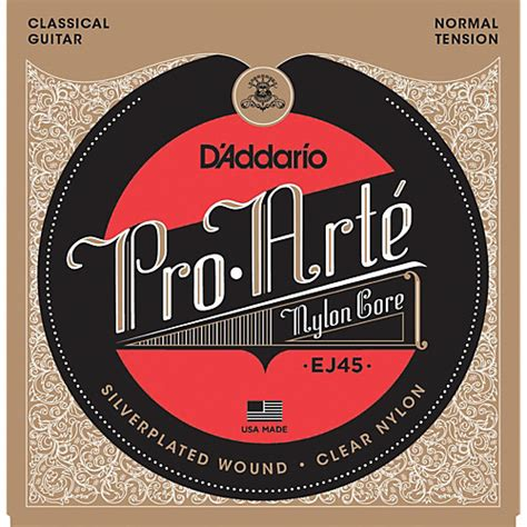 D Addario Pro Arte Classical Guitar Strings - d addario ej45 pro arte normal tension classical guitar