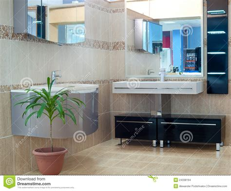 Bathroom Supply Store by Bathroom Equipment Royalty Free Stock Photography