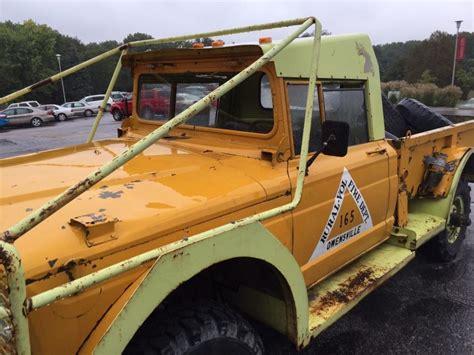 jeep kaiser 2017 1967 jeep kaiser m715 military brush firefighter na prodej