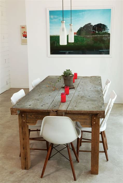 Farm Dining Room Table And Chairs 1000 Images About Upcycled Dining Tables On