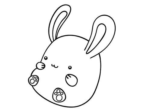 dibujos para colorear de conejitos bebes dibujo elefante bebe para pintar colorear lnea dibujosnet