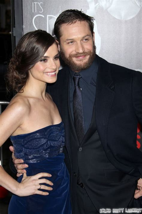 noomi rapace and tom hardy cuddle up to cute puppy while tom hardy and fiance charlotte riley still together noomi