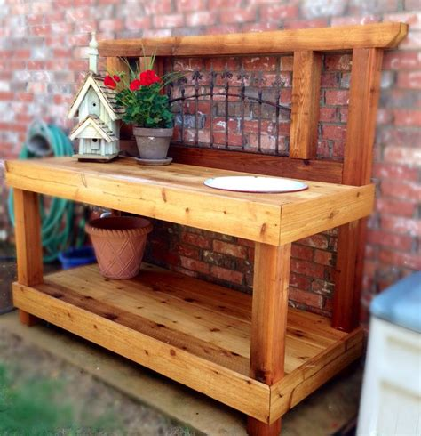 potting bench plans southern living 27 best images about potting areas on