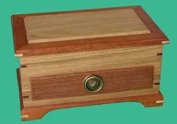 Handmade Jewellery Boxes Uk - jewellery box with drawer