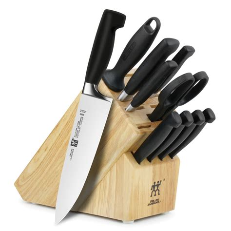 Zwilling J.A. Henckels Four Star Knife Block Set with