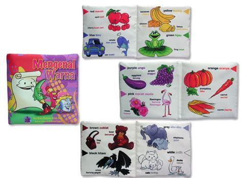 Buku Bantal Anak Mengenal Bentuk Dan Warna seri buku bantal untuk anak anak