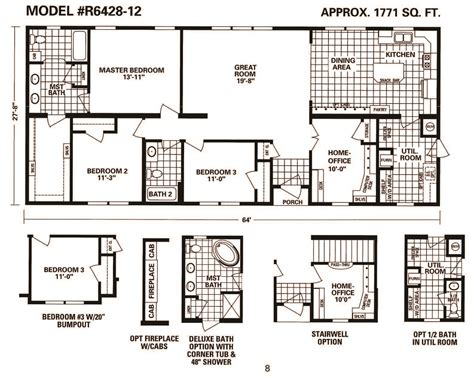 schult mobile homes floor plans schult main street 6428 12 excelsior west inc