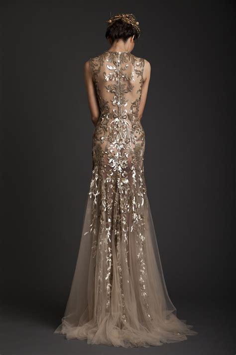 Wedding Dress Gold by Gold Wedding Dresses Chwv