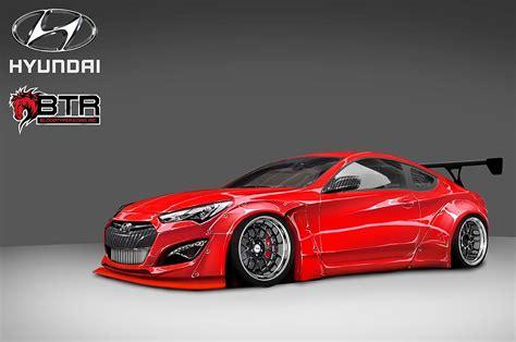 hyundai racing custom genesis coupe kit images