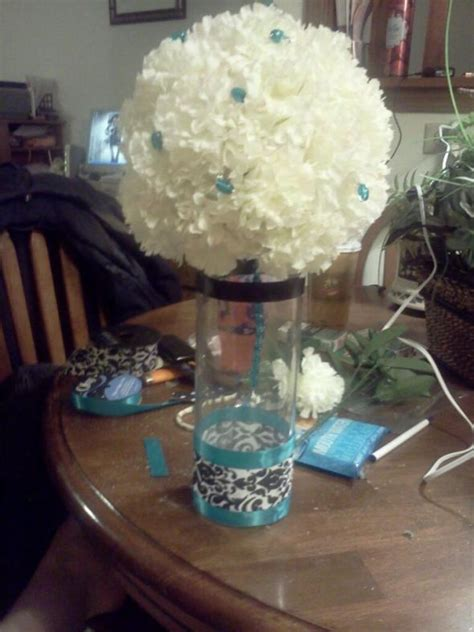 do it yourself centerpieces my try at centerpieces i need opinions weddingbee