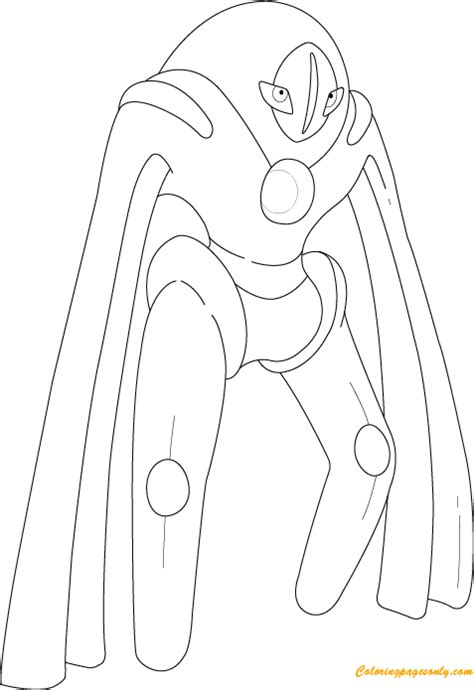 Deoxys Drawing