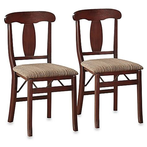 bed bath and beyond chairs triena emily folding chair set of 2 bed bath beyond