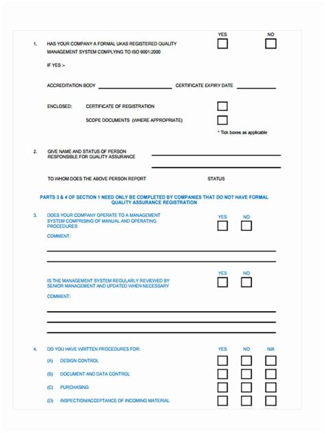 28 sle survey template in word surveys templates 28