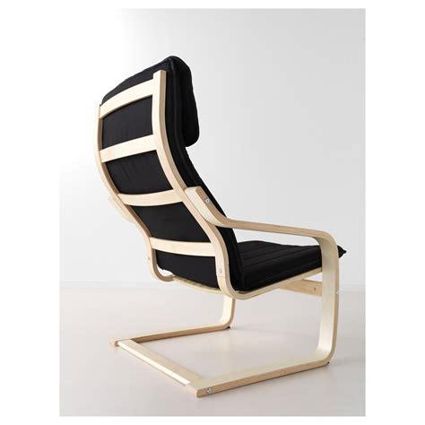 black armchair ikea po 196 ng armchair birch veneer ransta black ikea