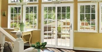 Patio Door With Side Windows Designs Alside Products Windows Patio Doors