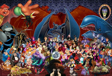 film disney in ordine cronologico disney villains wallpaper by disneyfreak19 on deviantart
