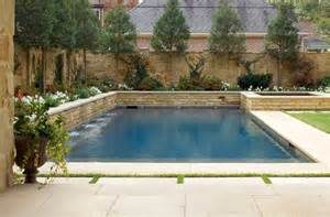backyard raised pool raised spa a saltwater pool raised spa and beautiful stone terrace