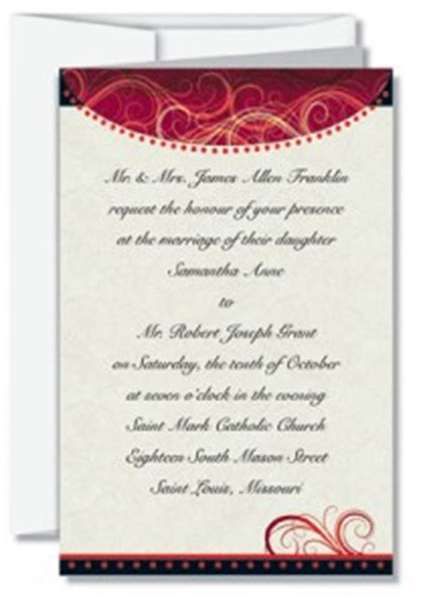 traditional wedding invitation wording paperdirect