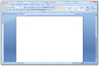 where do i find a blank page to type a letter or address