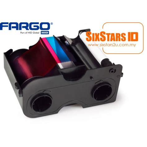Ribbon Colour For Printer Dtc1250e Ymcko 45500 fargo colour ribbon ymcko 45500