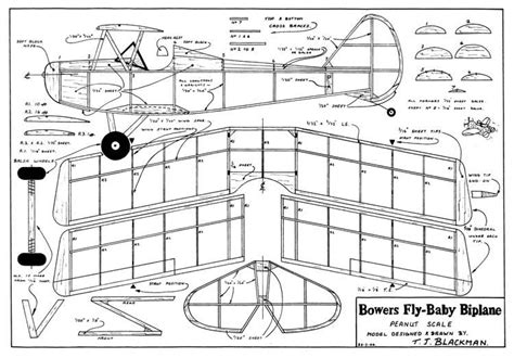 free rc plans fly baby biplane plans aerofred download free model
