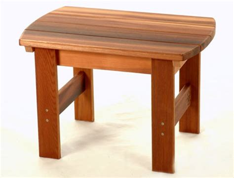 adirondack chair stool plans  woodworking