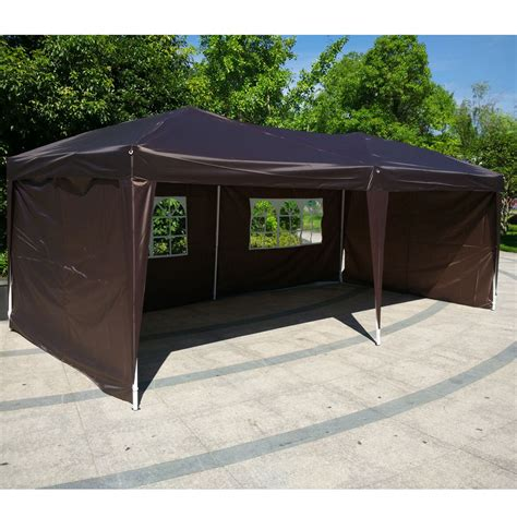 gazebo heavy duty 10x20 ez pop up wedding tent folding gazebo canopy