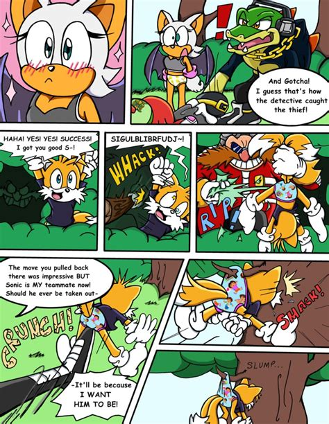 sonic survivor island pg 22 the one in charge by