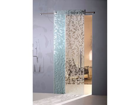porte in vetro casali porta scorrevole in vetro florita trasparente by casali