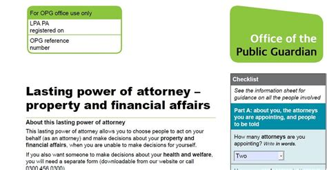 Lost Power Of Attorney Document Uk