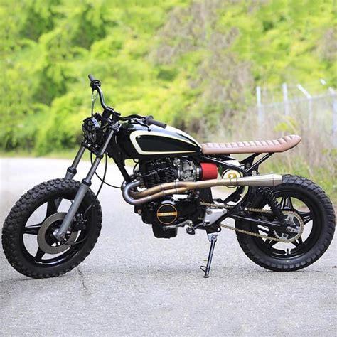 1981 honda cm400 honda cm400 tracker by speed shop bikebound
