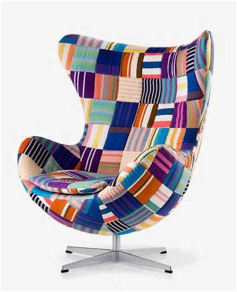 Patchwork Egg Chair - design classic dismissed egg chair my friend s house