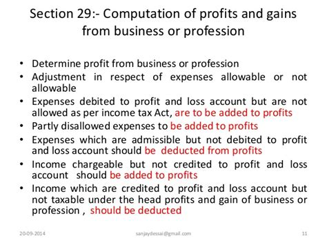 section 11 c of the income tax act section 29 of income tax act 28 images section 44ad of