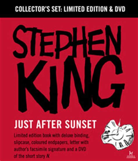 just after sunset stories books lilja s library the world of stephen king 1996 2017