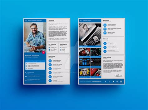 material design cv template material design resume cv template by iamvinyljunkie on