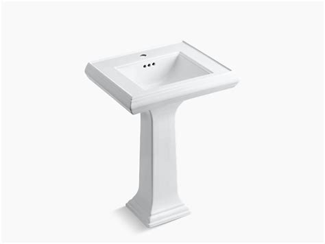Sink And Pedestal Memoirs Pedestal Sink With Classic Design And Single