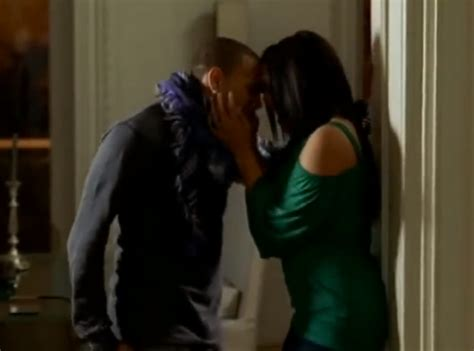 Jordin Sparks And Chris Brown On The Set Of No Air by No Air And Chris Brown
