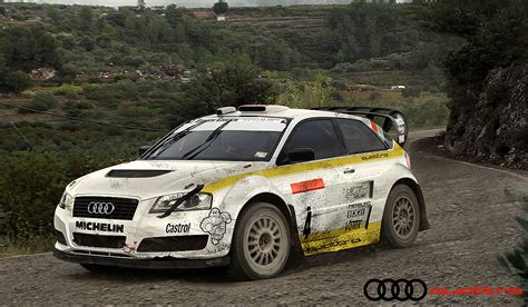 Rally Audi Quattro by Audi A3 Quattro Rally By Hussain1 On Deviantart