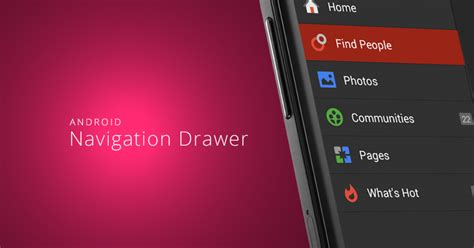 android tutorial android slidingpanels simple way to android sliding menu using navigation drawer