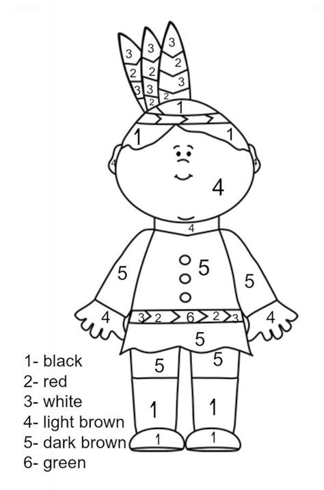 educational thanksgiving coloring pages thanksgiving printables color by number educational