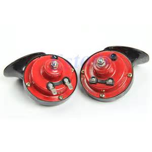 new car horn 2x 12v loud car auto truck electric vehicle horn snail