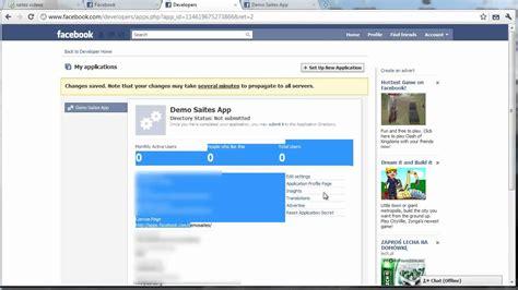 youtube tutorial facebook how do we make a simple facebook application video