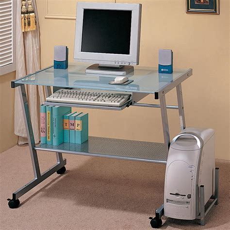coaster laptop stand with casters value city furniture desks contemporary computer desk with computer storage and