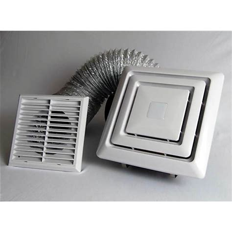 Ventilation Grilles For Ceilings by Aw908 Ducted Ceiling Exhaust Fan And Duct Kit Box Grille