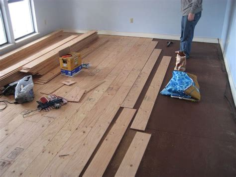 Diy Wood Flooring by 25 Best Ideas About Plywood Floors On Hardwood Plywood Diy Flooring And Painted