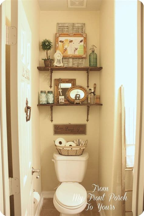 small bathroom accessories ideas hometalk half bath makeovers from my front porch to