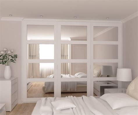 Bedroom Doors For Small Rooms Best 25 Fitted Wardrobes Ideas On Fitted