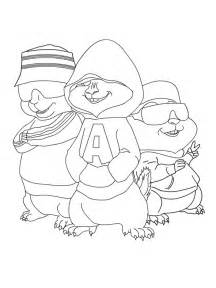 alvin and the chipmunks coloring pages coloring pages to