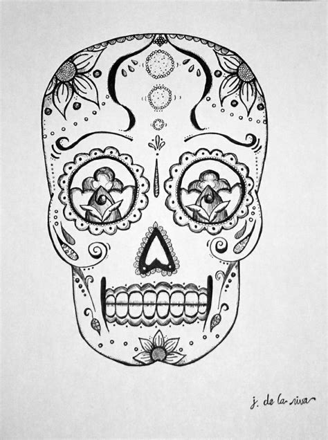 Pinterest Discover And Save Creative Ideas Mexican Skull Coloring Pages