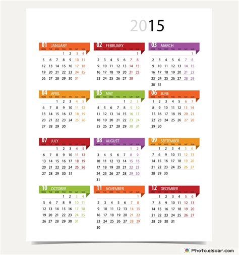 design of calendar 2015 100 off all 2015 calendars designs for different trends